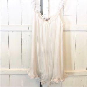 Victoria's Secret White Babydoll Nighty Size Large